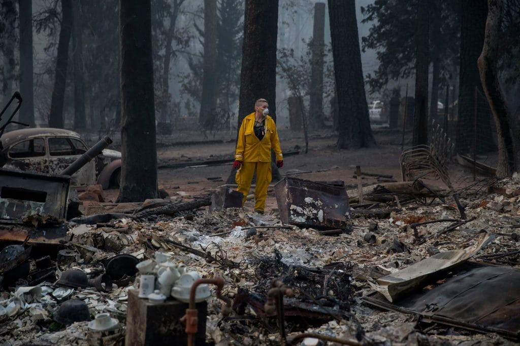 Camp Fire, Paradise, California