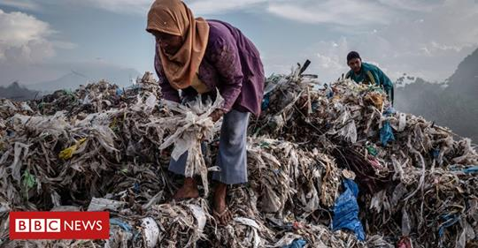 Plastic waste is still a huge problem